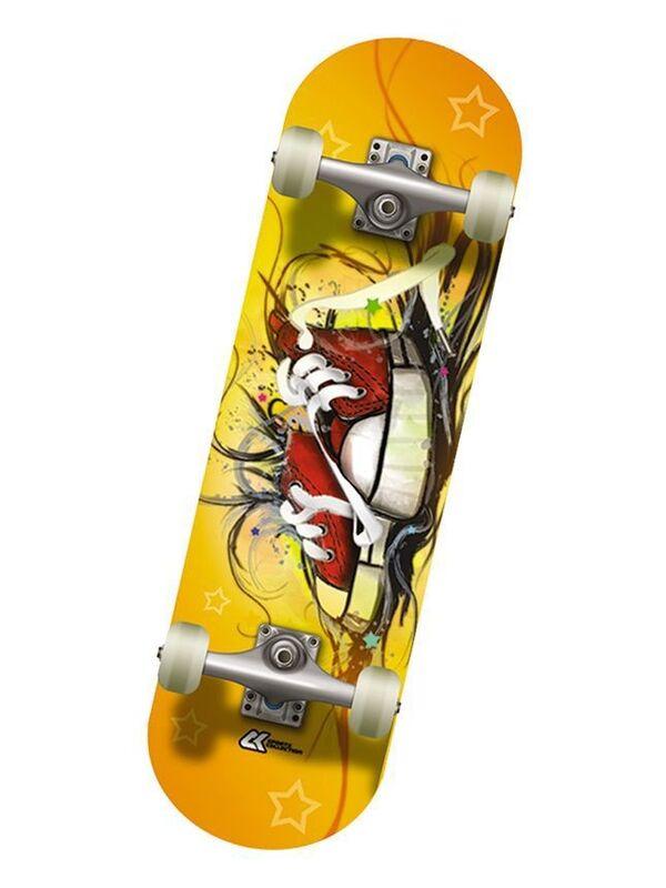 Скейтборд Спортивная коллекция Скейтборд Mini-Board Boots Jr - фото 1