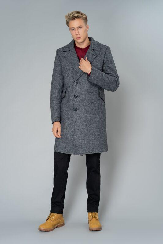 Верхняя одежда мужская Etelier Пальто мужское утепленное 6М-9103-1 - фото 2