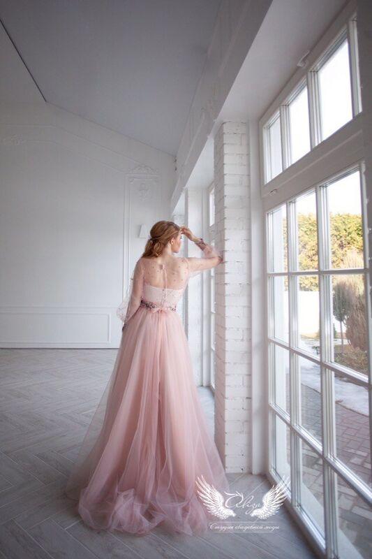 Свадебное платье напрокат ALIZA платье на роспись Alexxia - фото 5
