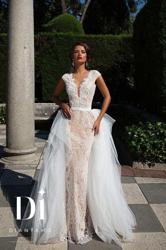 Свадебное платье напрокат Diantamo Платье свадебное Federica - фото 2