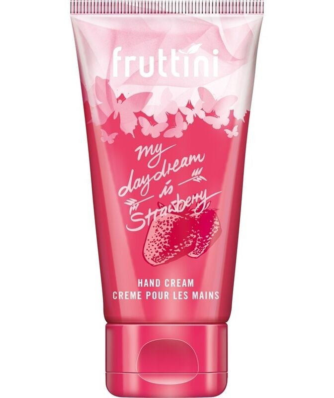 Уход за телом Fruttini Крем для рук «Клубника» LOVELY Strawberry - фото 1