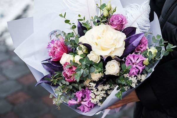 Магазин цветов Цветы на Киселева Букет «Вайт Леди» - фото 1