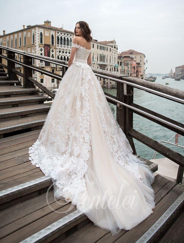 Свадебное платье напрокат Lavender Свадебное платье Lilian - фото 2
