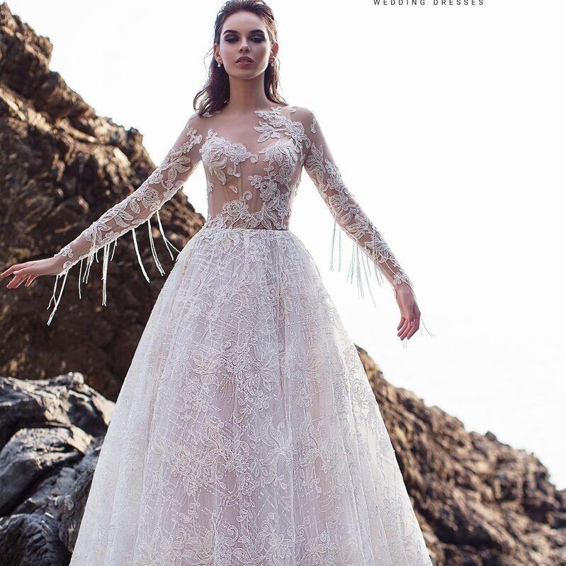 Свадебный салон Ange Etoiles Платье свадебное Ali Damore Merlin - фото 1