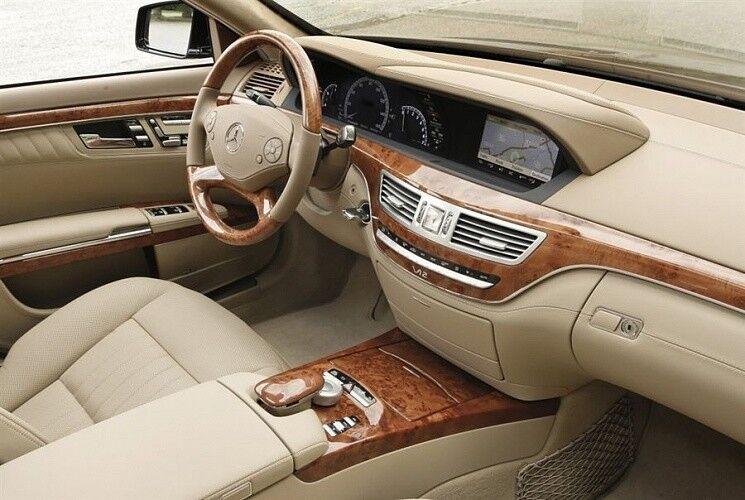 Прокат авто Mercedes-Benz W221 S-class белого цвета - фото 9