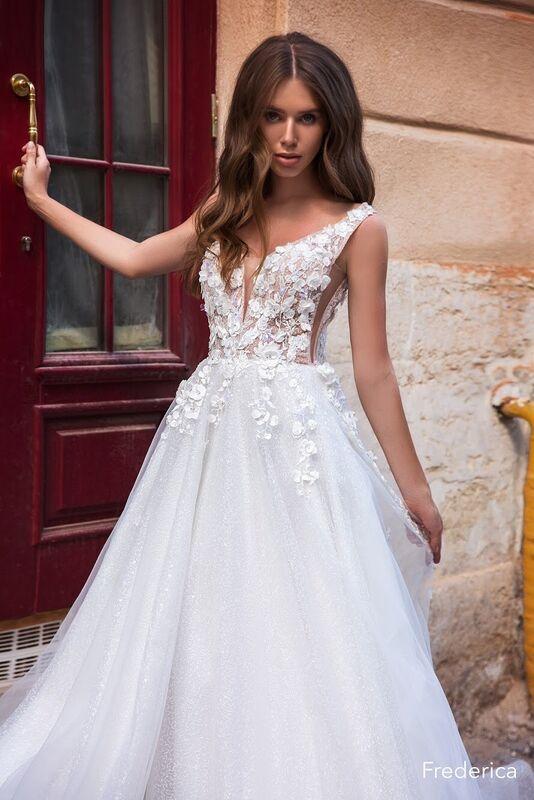 Свадебный салон Aivi Свадебное платье Frederika - фото 1