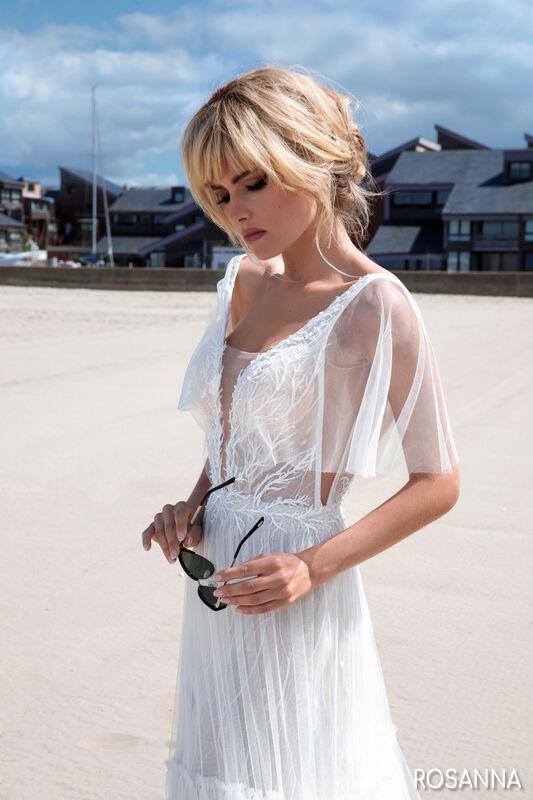 Свадебный салон Bonjour Galerie Свадебное платье ROSANNA из коллекции BON VOYAGE - фото 1
