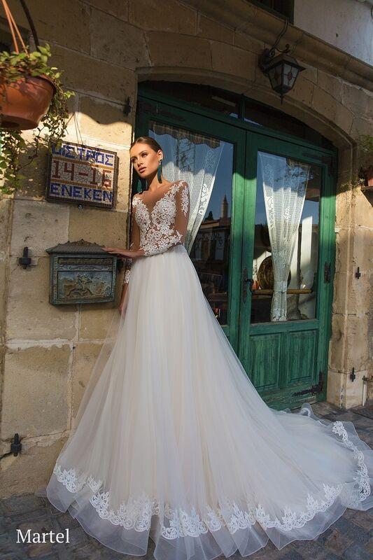Свадебное платье напрокат Aivi Свадебное платье Martel - фото 1