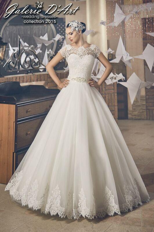 Свадебное платье напрокат Galerie d'Art Платье свадебное «Ундина» из коллекции BESTSELLERS - фото 1
