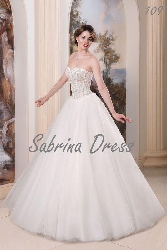 Свадебный салон Sabrina Dress Свадебное платье 109 - фото 1