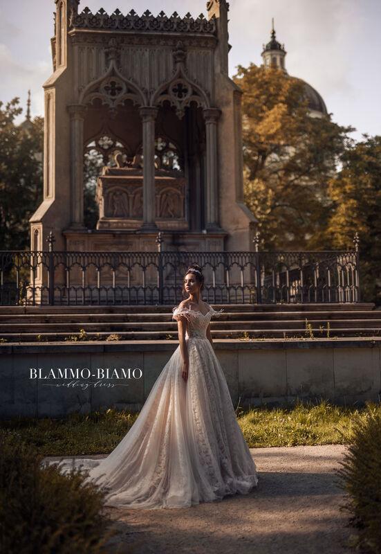 Свадебное платье напрокат Blammo-Biamo Платье свадебное The Rice  Lelei - фото 4