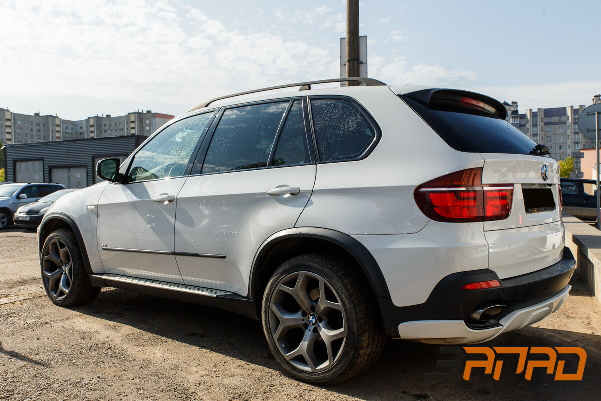 Прокат авто BMW X5 (E70 кузов) 2009 белый - фото 3