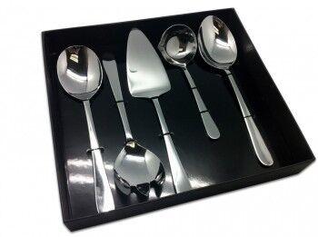 Подарок Grunwerg Набор для сервировки стола «Windsor» 5 предметов, 5BXSVRWSR - фото 1