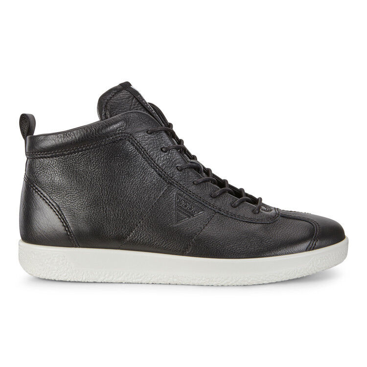 Обувь мужская ECCO Кеды высокие SOFT 1 400524/01001 - фото 3
