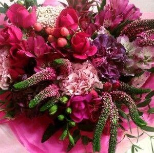 Магазин цветов Прекрасная садовница Букет розовое настроение - фото 1