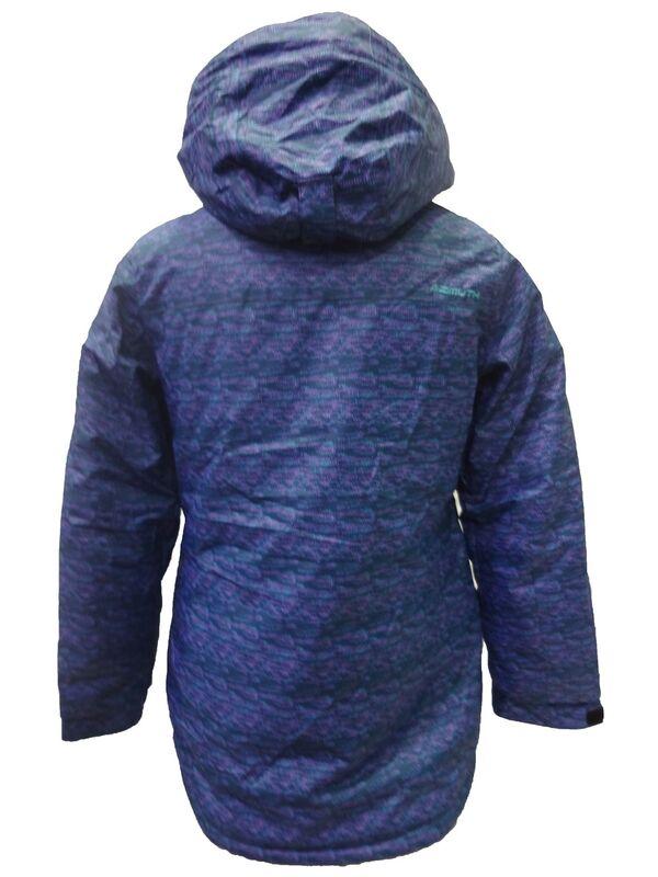 Спортивная одежда Azimuth Женская горнолыжная мембранная куртка синяя - фото 2