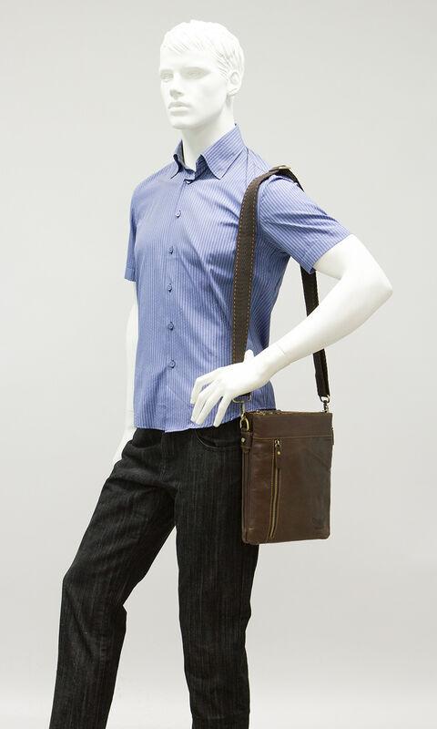 Магазин сумок Poshete Сумка мужская 196-1010-3 - фото 2