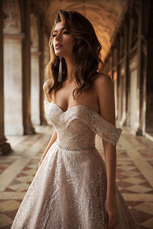"""Свадебное платье напрокат ALIZA свадебное платье  """"Jacobely"""" - фото 2"""