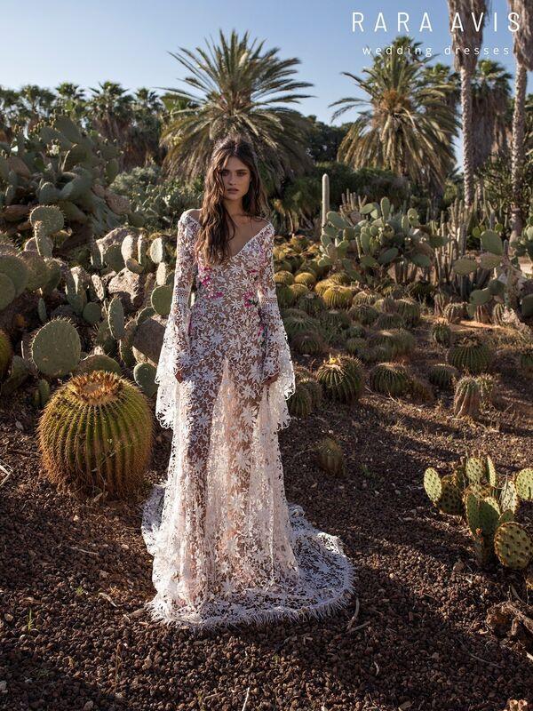 Свадебный салон Rara Avis Платье свадебное Wild Soul Klark - фото 6