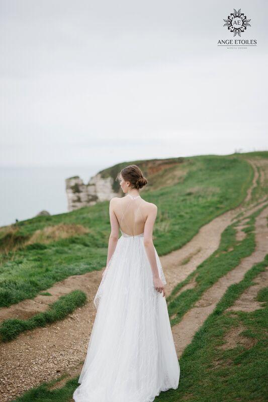 Свадебный салон Ange Etoiles Свадебное платье AEriality Collection  Seage - фото 2