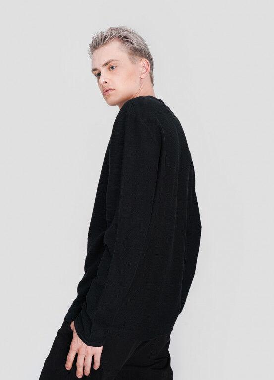 Кофта, рубашка, футболка мужская O'STIN Джемпер из текстурированного полотна MT5X36-98 - фото 2