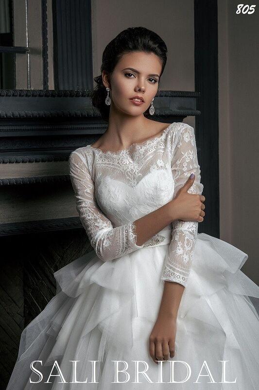 Свадебный салон Sali Bridal Свадебное платье 805 - фото 2