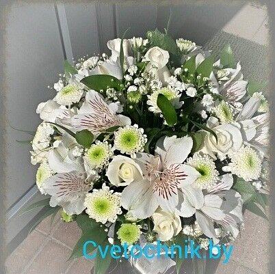 Магазин цветов Цветочник Букет невесты «Саманта» - фото 1