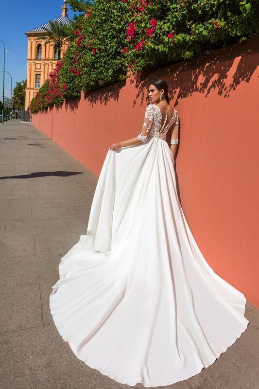 Свадебное платье напрокат Crystal Свадебное платье Simona - фото 2