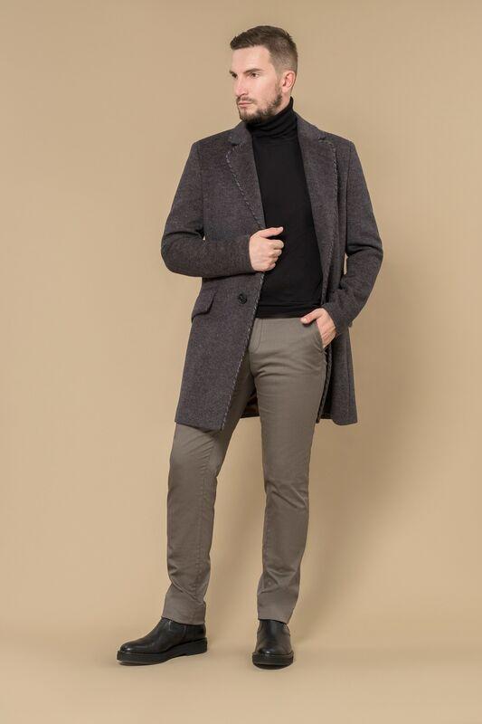 Верхняя одежда мужская Etelier Пальто мужское демисезонное 1М-8602-1 - фото 2