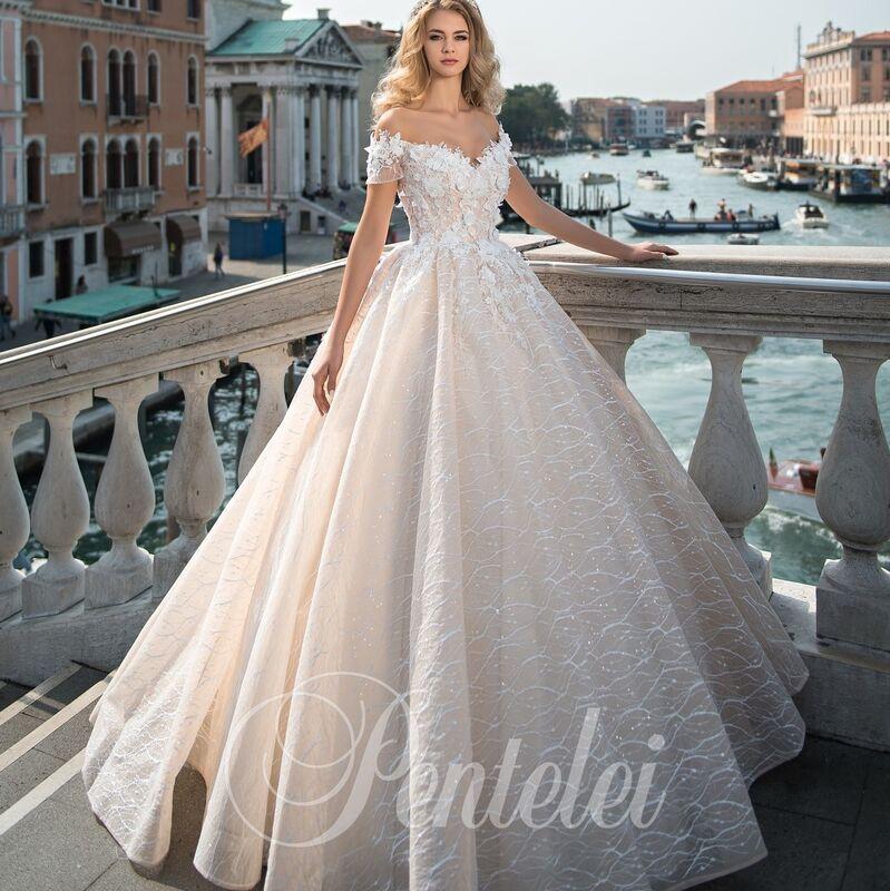 Свадебное платье напрокат Lavender Свадебное платье Palermo - фото 1