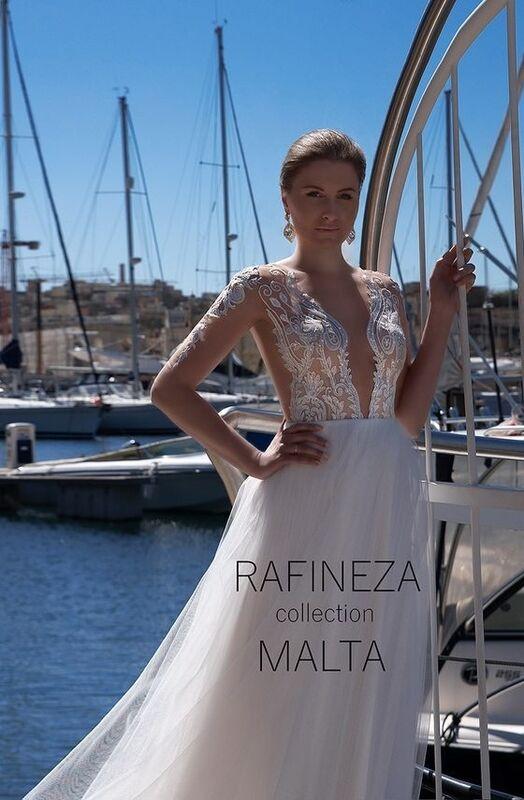 Свадебное платье напрокат Rafineza Платье свадебное Emili - фото 1