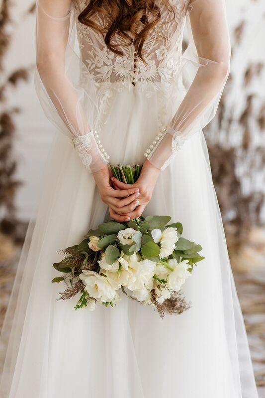 Свадебный салон ALIZA свадебное платье Nikka - фото 2