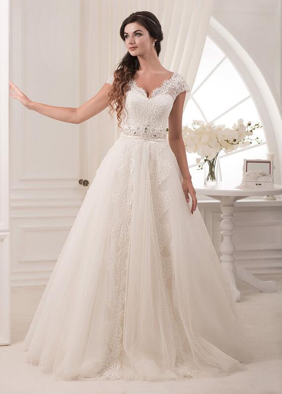 Свадебное платье напрокат White One (Pronovias) Платье свадебное «Selia» - фото 1