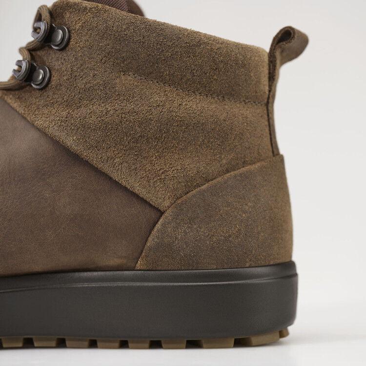 Обувь мужская ECCO Кеды высокие SOFT 7 TRED 450114/55778 - фото 5
