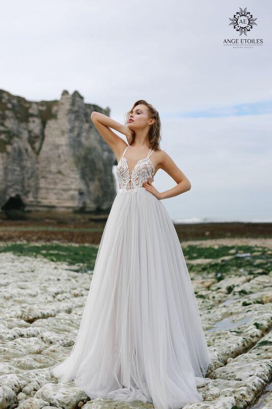 Свадебное платье напрокат Ange Etoiles Платье свадебное AEriality Collection Tea - фото 1
