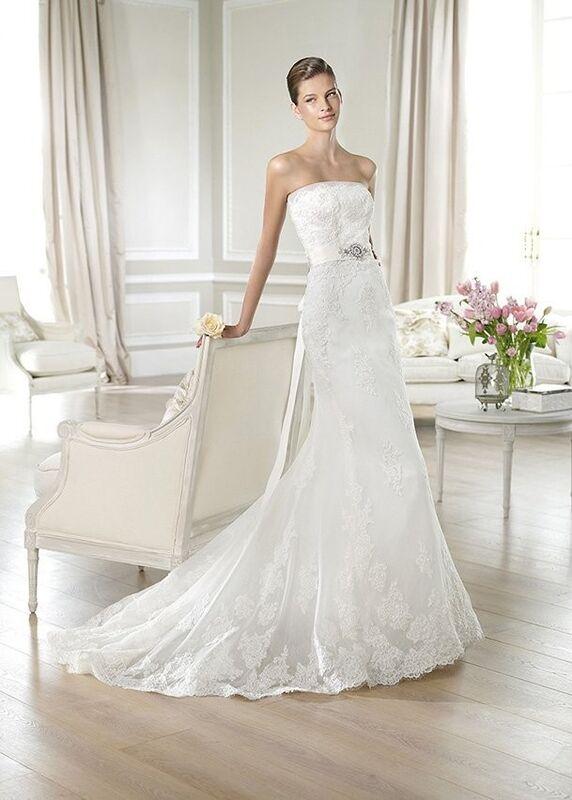 Свадебное платье напрокат White One (Pronovias) Платье свадебное «Jaramil» - фото 1