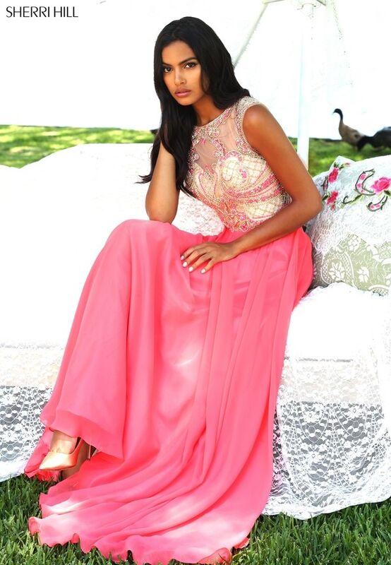Свадебное платье напрокат Sherri Hill Платье свадебное 50160 - фото 5