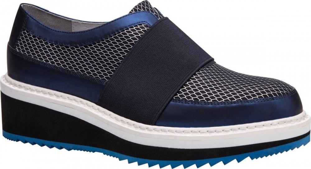 Обувь женская Ekonika 2 Полуботинки женские 1011-02 blue - фото 1