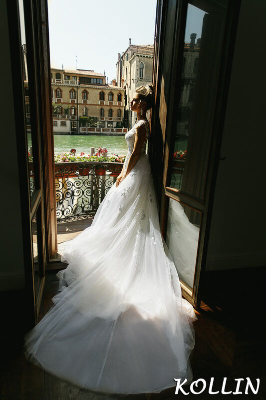Свадебный салон Bonjour Galerie Свадебное платье Kollin из коллекции La Douceur - фото 3