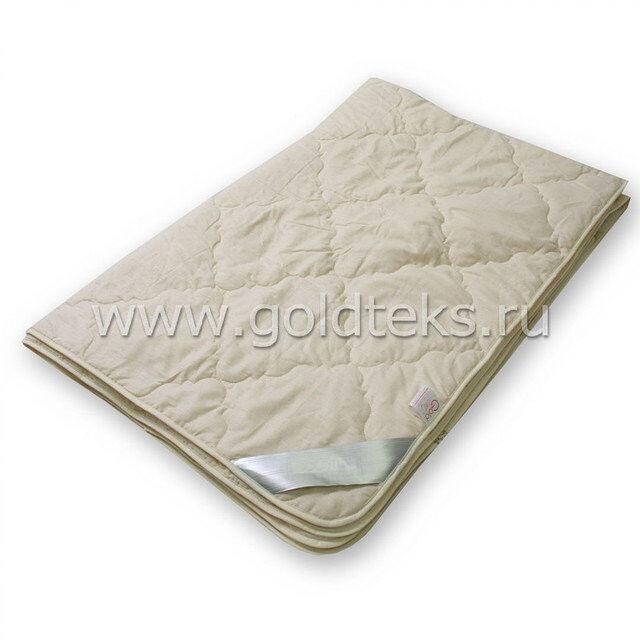 Подарок Голдтекс Облегченное овечье одеяло LUXE SOFT 1,5 сп.  арт. 1009 - фото 1