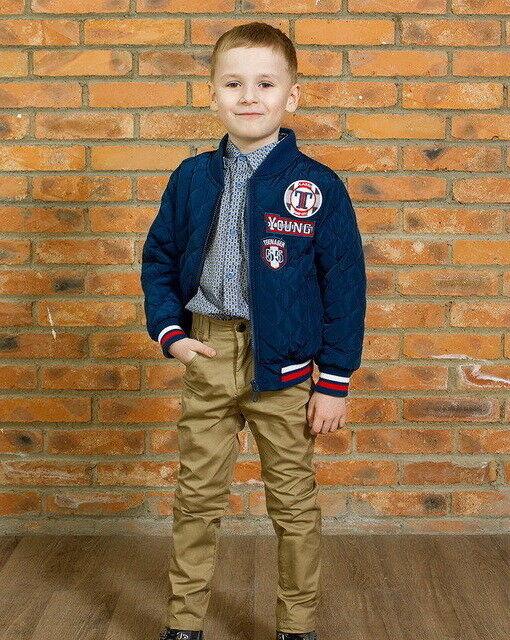 Верхняя одежда детская Джерри Джой Куртка для мальчика А016 - фото 1