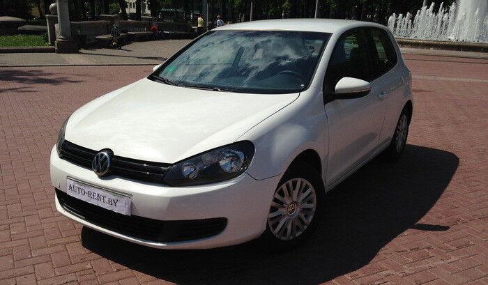 Аренда авто Volkswagen Golf 6 White - фото 1