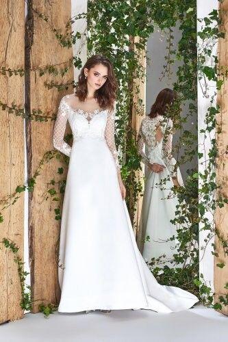 Свадебный салон Papilio Свадебное платье «Wonderland» #1809-L Георгин - фото 1