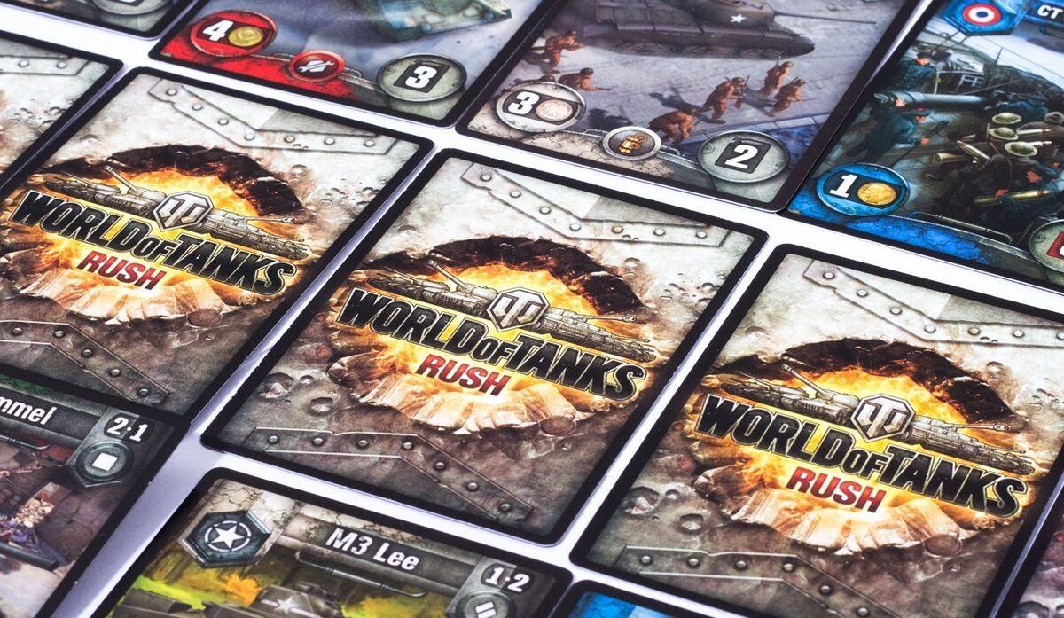 Подарок на Новый год Hobby World Игра настольная «World of Tanks: Rush» - фото 3