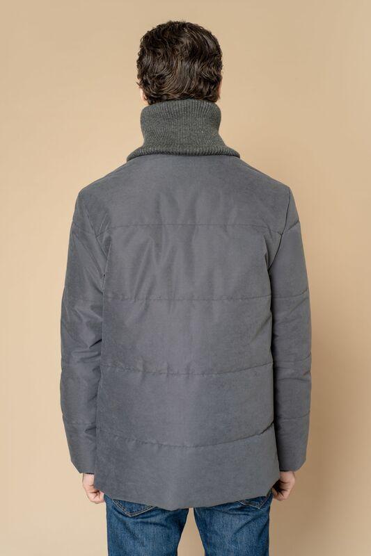 Верхняя одежда мужская Etelier Куртка мужская плащевая утепленная 4М-8523-1 - фото 10