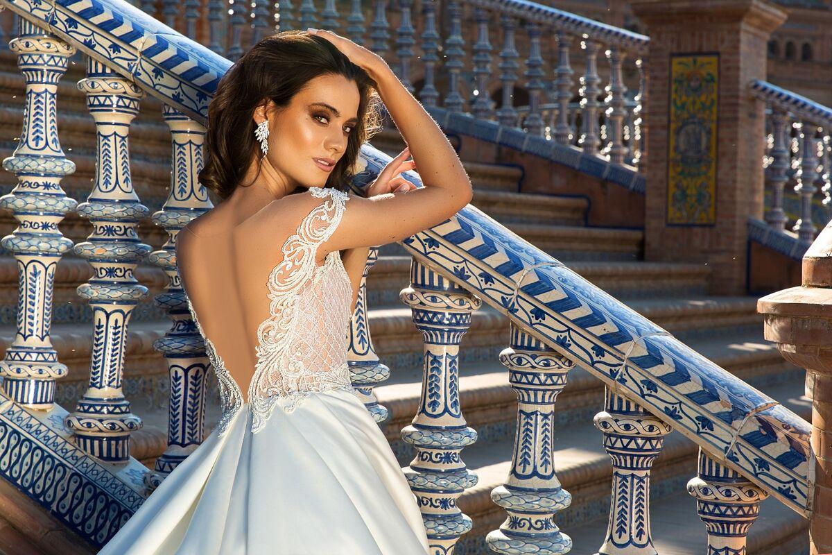 Свадебный салон Crystal Платье свадебное Isabel - фото 4
