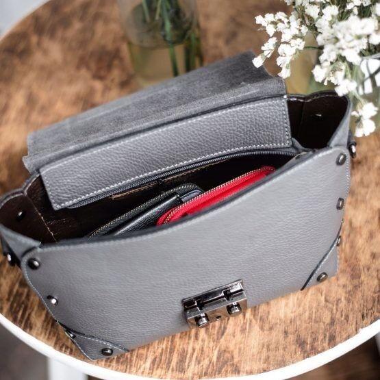 Магазин сумок Vezze Кожаная женская сумка C00454 - фото 3