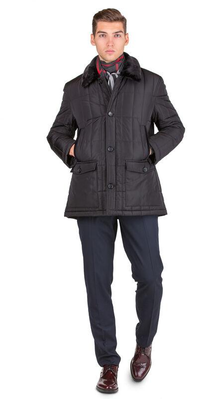 Верхняя одежда мужская HISTORIA Куртка утепленная черная WJ.B.Cri004 - фото 2