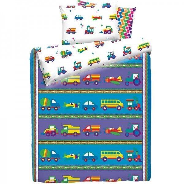 Подарок Mona Liza Детское постельное бельё Машинки - фото 1