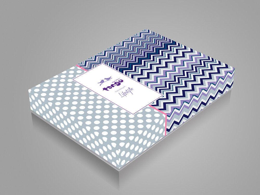 Подарок Tango Однотонное постельное белье из сатина на резинке евро JT46 - фото 3